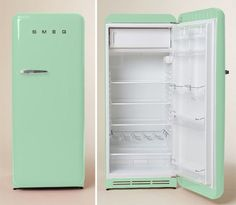 Image result for green fridge