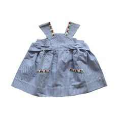 VINTAGE 50's / enfant / robe tablier / coton par Prettytidyvintage