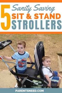 It isnt always enjoyable to take an infant for a spin around the block or to the park when youre also dragging a toddler around with you; sit and stand strollers are designed to take care of that issue. Pregnancy Must Haves, Pregnancy Tips, Babies First Year, First Time Moms, Baby Necessities, Baby Essentials, Good Parenting, Parenting Hacks, Baby Registry Checklist