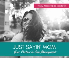 "Are you looking for a ""Partner in Time Management?""  Someone to help you schedule your content or create meme's for your page?  Just Sayin' Mom Social Media Management Services are there every step of the way!  Give yourself the gift of FREEDOM this holidays season.  Contact leslieslaws@gmail.com"
