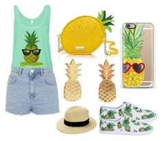 """A Taste of Pineapples"" by bee4735 on Polyvore"