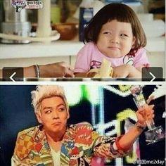 T.O.P and lovely  Choo Sarang :)