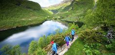 Wandelen in de Aurlandsdalen Vallei