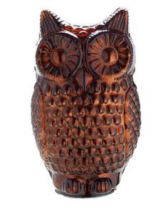 The rusty tone of this glass owl object is sure to be your new favourite shade. Priced at sainsburys autumn dream home Sainsburys, Autumn Home, Warm Colors, Decorating Tips, Diys, Owl, Hedgehogs, Autumnal, Stylish