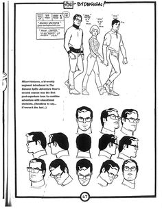 Comic Book Artists, Comic Artist, Comic Books Art, Character Model Sheet, Character Concept, Character Design, William Hanna, Hanna Barbera, Cartoon Sketches
