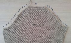 The most preferred arm-cutting technique in knitting sweaters is . Knitting Basics, Knitting Stitches, Knitting Projects, Hand Knitting, Baby Knitting Patterns, Crochet Patterns, Filet Crochet, Knit Crochet, Handgestrickte Pullover