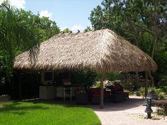 Thatch Roll 4 Tiki Bar Thatching Palm Grass Fresh Thatch for Tiki Bar Outdoor Tiki Bar, Outdoor Cabana, Outdoor Gazebos, Canopy Outdoor, Outdoor Ideas, Grill Gazebo, Hot Tub Gazebo, Patio Gazebo, Large Gazebo