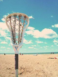 lacrosse goals = beach vibes