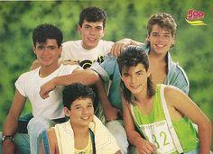 Menudo - Robby, Raymond, Ricky, Sergio, & Ralphy