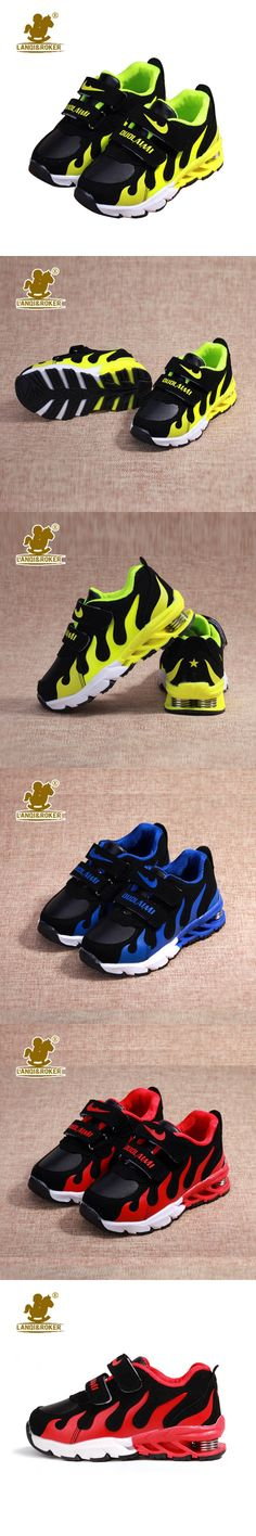 Kids Shoes With Elastic Spring 2016 New Spring Breathable Boys Fashion Sneakers Chaussure Enfant Sport Running Girls Shoes 26-37