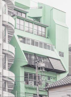 """janvranovsky: """" Green volume in Tokiwa, Kōtō-ku, Tokyo   © Jan Vranovský, 2016 """""""