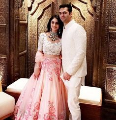 Our Bride In A Beautiful Pink Lehenga