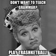 Grammar can be boring for both students and teachers. Make learning fun while helping your students really understand their grammar concepts. Play Trashketball games created by OCBeachTeacher.