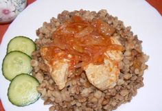 Risotto, Grains, Rice, Ethnic Recipes, Food, Red Peppers, Essen, Meals, Seeds