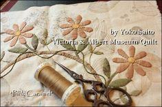Victoria & Albert museum quilt by pink caramel (Yoko Saito)