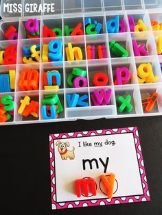 Sight Words Sentences Cards Fun Ideas and Centers for First Grade, Kindergarten, or really any age that you want to teach sight words to! Toddler Learning, Preschool Learning, Learning Activities, Preschool Activities, Kids Learning, Teaching Phonics, Learning Spanish, Teaching Resources, Sight Word Sentences