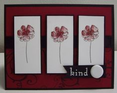 Stampin Up's Botanical Blooms stamp set