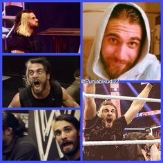 The many faces of Seth Rollins #WWE