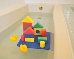 Wonder Blocks NonToxic Floating Waterproof Foam Building Blocks -- More info could be found at the image url. Note:It is Affiliate Link to Amazon.