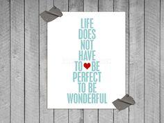 make life wonderful