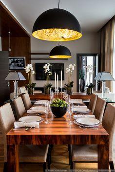interiors_ru: Квартира в Москве в доме класса De luxe.