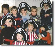Pirate Birthday Party: Food, games and other ideas