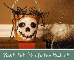 DIY Halloween : DIY Halloween Bucket