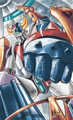 Ulysse 31, Manga Anime, Gundam, Battle Robots, Robot Cartoon, Big Robots, Fan Drawing, Japanese Superheroes, Super Robot