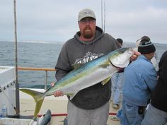 Big yellow tail caught off La Jolla recently. Can't wait to get the El Gato Loco ship shape so I can get out there.