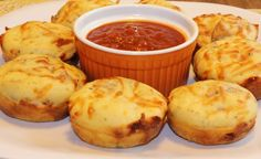Muffin pizza bites