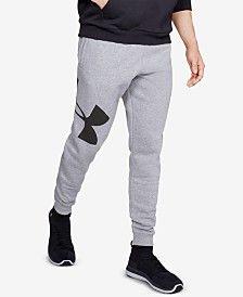Under Armour Men Rival Fleece Logo Joggers Adidas Pants, Jogger Pants, Adidas Men, Nike Men, School Spirit Wear, Outfits Hombre, Sporty Outfits, Sweatpants Outfit, Bold Logo