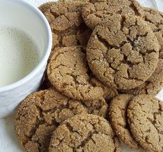 It doesn't matter how many cookie recipes I dog-ear or bookmark. I've tried everything from tuiles to the famous Word Peace cookies. These gingersnaps will always, always be my favorite…