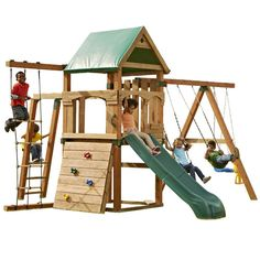 Found it at Wayfair - Play Set Trekker Swing Set