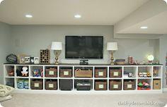 How we keep our #basement organized! #organization
