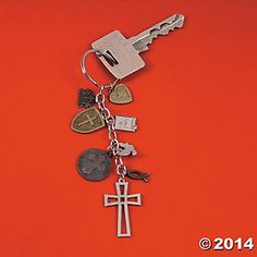 Religious Charms Key Chains