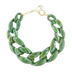 Nate Emerald necklace #DianaBroussard