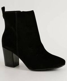 Suede Ankle Boots, Black Ankle Boots, Black Heels, Black Women Fashion, Womens Fashion, Stylish Winter Outfits, Dream Shoes, Elegant Woman, Footwear