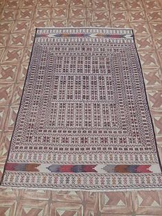 Traditional Rugs Made By Hand Rug 4' X 6' Baluch (48X71 in) Kalat Tribal