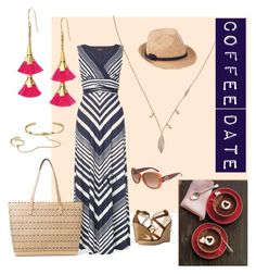 """""""Coffee Date"""" by paulinhag on Polyvore featuring Gabriella Rocha, Stella & Dot, Gucci, Talbots, women's clothing, women, female, woman, misses and juniors"""