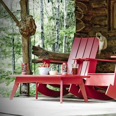 A true Canadian porch.