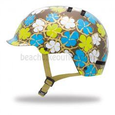 If I MUST wear a helmet... Giro Surface Helmet Brown Flowers | Beach Bike Outlet