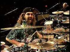 Mike Portnoy with Drum Theater at Modern Drummer Festival 2003