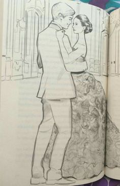 Maxon and America this is literally one of my fav books😆😆😆 La Sélection Kiera Cass, Kiera Cass Books, The Selection Kiera Cass, The Selection Book, Pencil Drawings, Art Drawings, Couple Drawings, Pencil Art, I Love Books