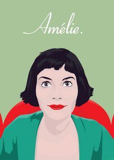 Amélie poster by Domanic Li