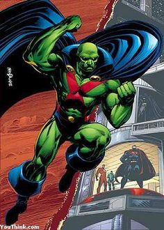 Martian Manhunter.....stoic, reliable, noble, damn near as strong as Superman and every inch the hero.