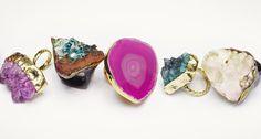 Natural stone jewelry (brands: Vita New York, Adina Mills Design, Charles Albert)