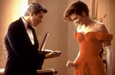 """From the movie """"Pretty Woman;""""  I really admire her dress."""