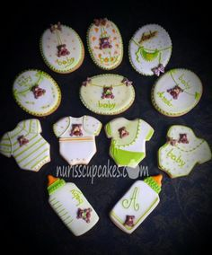 Cookies Baby Shower - Cake by Nurisscupcakes
