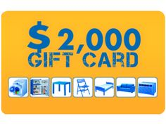 $2000 Home Depot Gift Card Giveaway from Win-Now  Sweepstakes Prize  Enter to Win  Enter to win a $2000 Gift Card to The Home Depot.  ARV: $2000.00 Winners: 1Open to: U.S.A 18 Expires: Sunday Dec. 31 2017 Entry: 9999x hourly Type: text form
