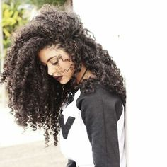 My hair is like this